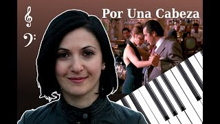 """""""Por Una Cabeza"""" Tango from 'Scent of a Woman' - piano cover with free sheets"""