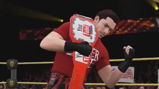 WWE 2K16 - DenkOp's Chris Danger Custom Heel Theme Song - (Ballad Of A Champion/Fight)