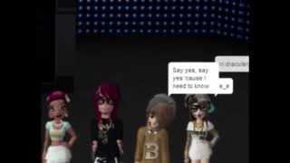 Rude - Magic! (Meez Music Video)
