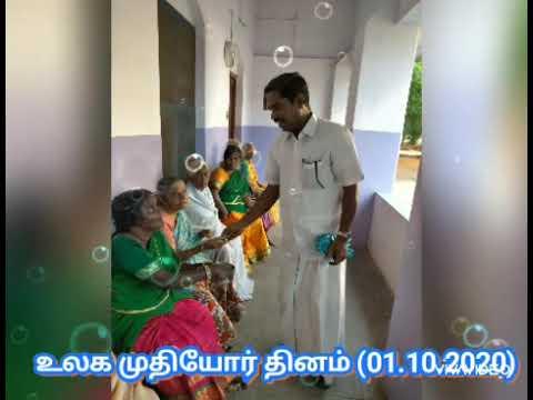 World Elders Day Celebration - 01.10.2020 (Sacred heart old age home, Srivilliputtur)