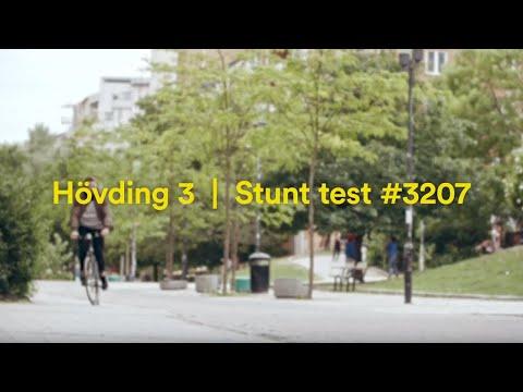 Hövding 3 stunt test #3207