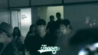 [Fancam]140927 TOP Choi Seung Hyun (BigBang) Leaving - Tazza @ Hong Kong Special Screening