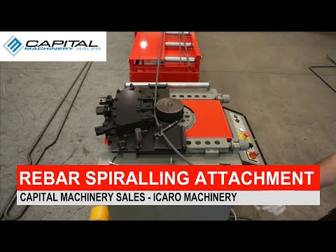 Rebar Spiralling Attachment Accessory