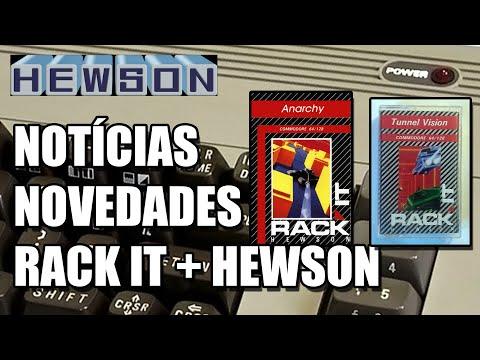 HEWSON RACK IT COMMODORE 64