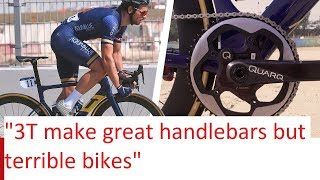 Adam Blythe RUINS 3T STRADA // 1X Bikes are dead?