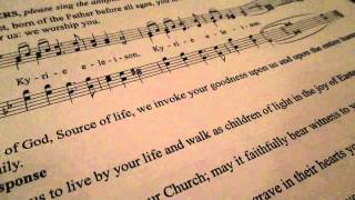 Taize. Kyrie eleison. The Cathedral Church of Saint John the Divine, 2015, live.