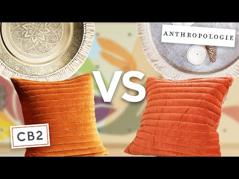 recreating fall decor from CB2, Anthropologie and more!
