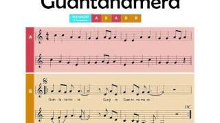 Guantanamera (voz guia e flauta de bisel)