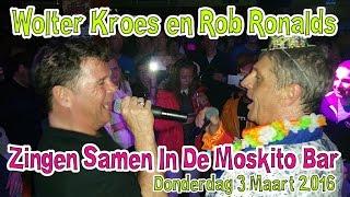 Wolter Kroes en Rob Ronalds Zingen Samen In De Moskitobar Westendorf Oostenrijk