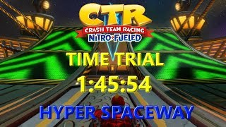 Nitro Fueled: Hyper Spaceway Time Trial In 1:45:54