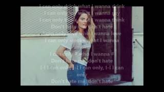JoJo - I Can Only INSTRUMENTAL  (Feat Alessia Cara) [Unofficial Audio] Karaoke Lyrics