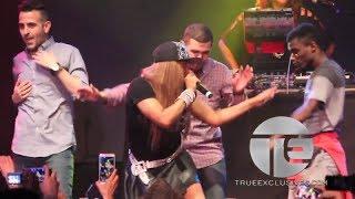 """Salt N Pepa Perform """"Whatta Man"""" w/ Male Fans At Reunion Show"""