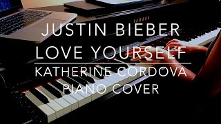 Justin Bieber - Love Yourself (HQ piano cover)