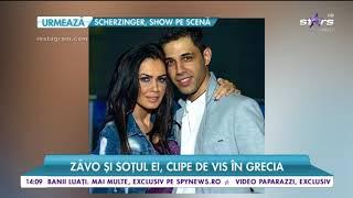 Oana Zăvoranu și soțul ei, clipe de vis în Grecia