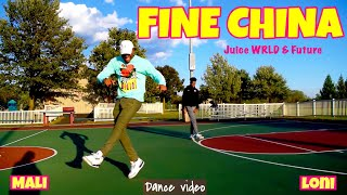 Juice WRLD & Future - Fine China (Official Dance Video) [WRLD On Drugs]