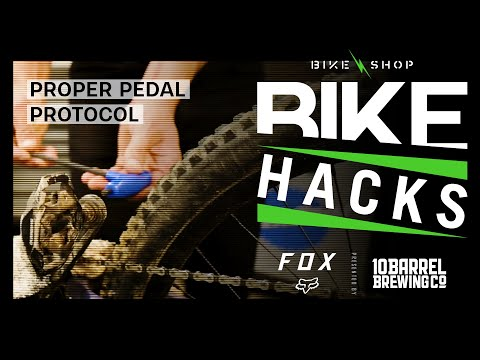 BIKE HACK: Proper Pedal Protocol
