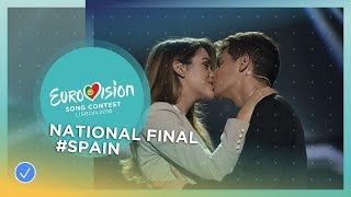 Alfred and Amaia - Tu Canción - Spain - National Final Performance