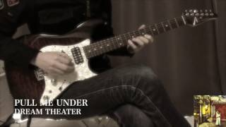 Dream Theater - Pull Me Under - Guitar Solo Cover