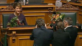 Suíça: Nova presidente vai dar prioridade ao tema da democracia direta