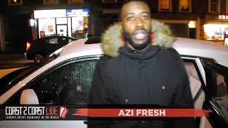 Azi Fresh (@Real_AziFresh) Performs at Coast 2 Coast LIVE | London UK Edition February 13, 2018
