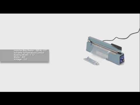 Impulse Bag Sealer ISEAL-11T