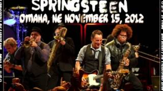 Bruce Springsteen and The E Street Band: State Trooper (Omaha 2012)