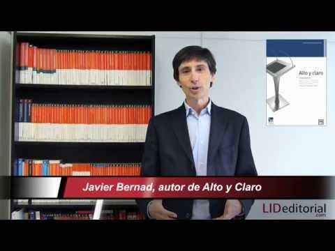 Javier Bernad presenta el libro «Alto y Claro»