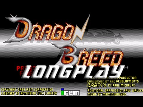 Dragon Breed (Commodore Amiga) Longplay