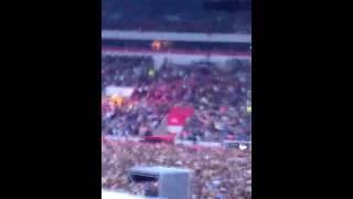 Marky, Michelle & Anth See Rihanna Live At Sunderland Stadium.