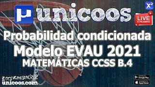 Imagen en miniatura para LIVE!!! Modelo EvAU 2021 - Matemáticas CCSS 05 - Ejercicio B.4 -Probabilidad condicionada