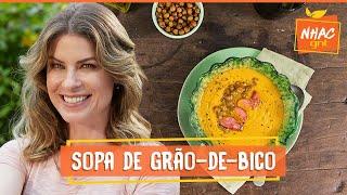 Sopa de Grão-de-Bico   Rita Lobo   Cozinha Prática