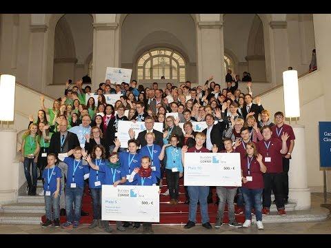 Preisverleihung Bundes-Schülerfirmen-Contest 2016