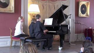 Prokofiev - Romeo and Juliet - Dance of the Kinghts (four hands piano)