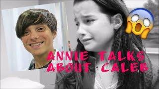 ANNIE LEBLANC TALKS ABOUT CALEB DURING INTERVIEW
