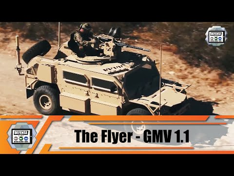 General Dynamics to produce more Ground Mobility Vehicles for US Army Flyer Light Strike Vehicle