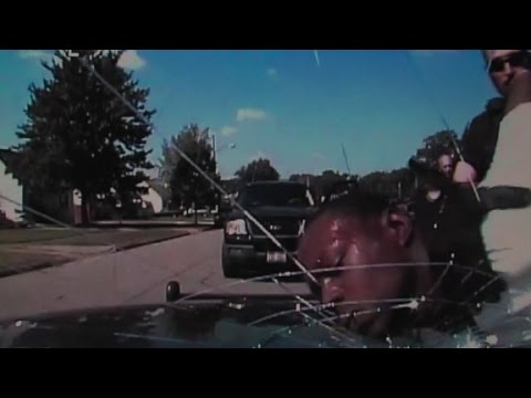 Man's face slammed into police cruiser windshield
