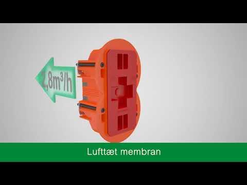 LK FUGA® AIR vindtæt installation | Schneider Electric