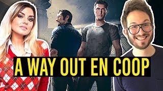 Vidéo-Test : A WAY OUT en Coop avec Carole : les rois de l'évasion ? (sans spoiler)