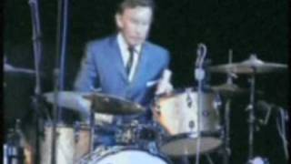'THE RAPIERS' JOHN TUCK performs ''see you in my drums''