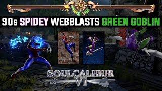 Classic Spiderman VS Green Goblin | Character Creation Soul Calibur VI