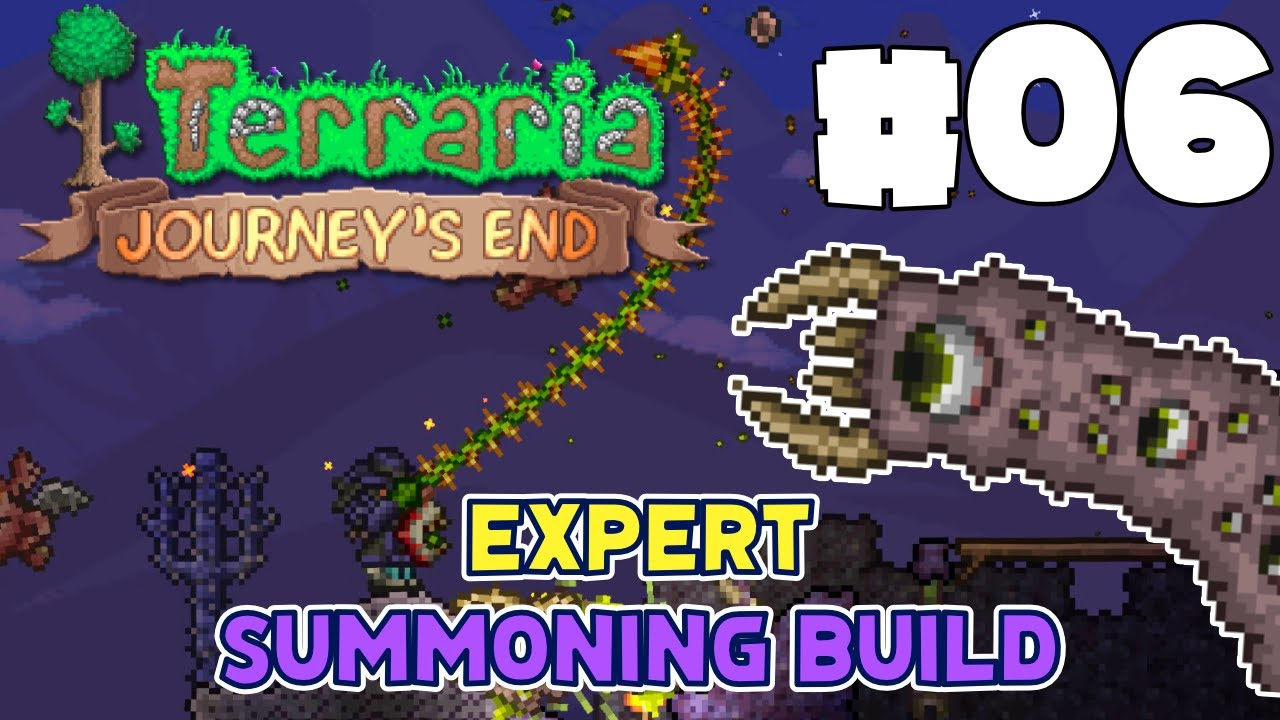 Killa Drone - The Grudge Match (Eater of Worlds) | Terraria Summoner 1.4.1 | Episode #06