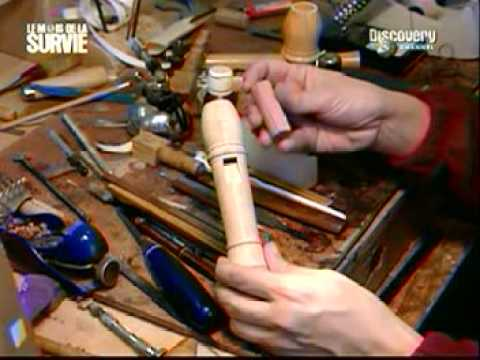 Comment fabriquer le pavillon pour une de flûte à bec