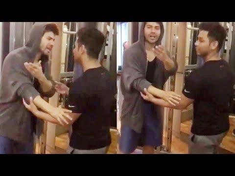 Varun Dhawan Promotes Toilet: Ek Prem Katha!
