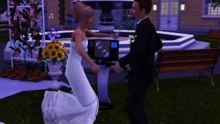 My Sims after wedding party