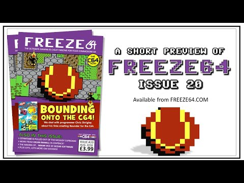 FREEZE64 fanzine issue 20 for the Commodore 64
