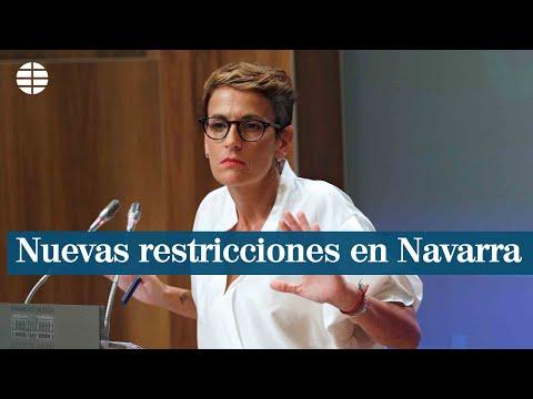 Navarra endurece sus restricciones para frenar el coronavirus
