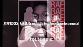 A$AP Rocky - Raf ft. Quavo, Lil Uzi Vert, Frank Ocean (flp + Instrumental)