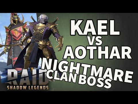 [RAID SL] AOTHAR VS KAEL - NM CLAN BOSS