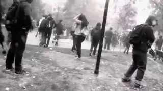1º de mayo 2014 Plaza Brasil (la otra-como la pólvora)
