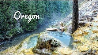 OREGON - WATERFALLS & HOTSPRINGS - EPISODE 26